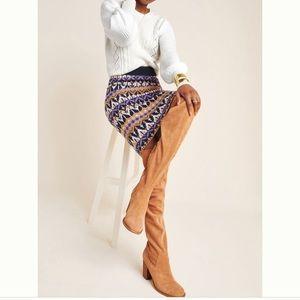 Anthropologie Saoirse Sweater Midi Skirt S